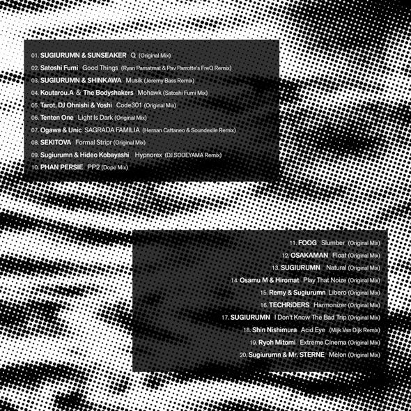 """RELEASE : BWR 100th V.A """"NESSIE"""" from BASS WORKS RECORDINGS"""