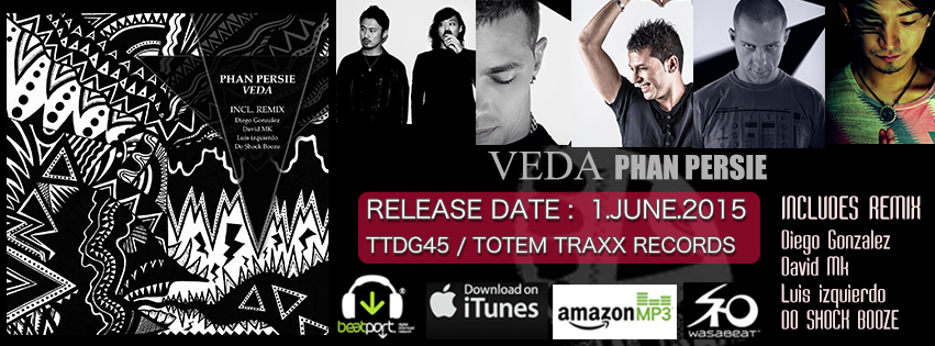 "RELEASE : ""VEDA"" from TOTEM TRAXX (Tokyo)"